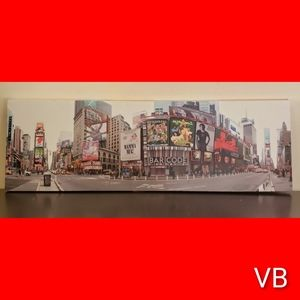 New York Times Square Extra Large Panoramic Canvas